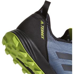 adidas TERREX Agravic Speed Shoes Men Raw Steel/Core Black/Solar Slime